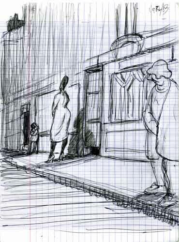 Vie parisienne,prostitution,moeurs,souvenirs d'un témoin d'un artiste témoin de son temps,