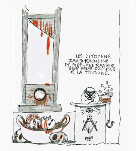 gérard larcher,franc-maçonnerie,sénat,guillotine,robespierre,térrorisme