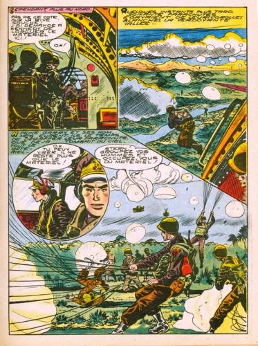 bd sergent garry,milton caniff,felix molinari,pat ryan,terry,buck danny,editions impéria,bar zing de montluçon,tarzanides du grenier,doc jivaro