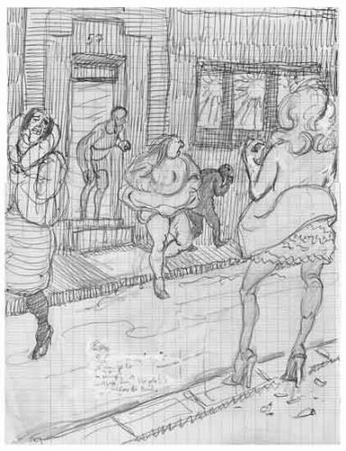 Prostitution,prostitution populaire,sexualité,moeurs,vie parisienne