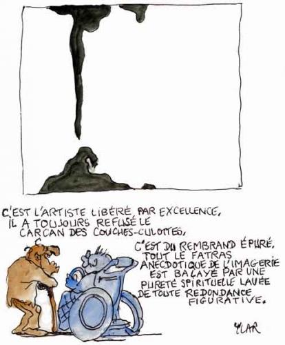Philippe Dagen,Musée des Beaux Arts,Lyon,Le Monde,Pierre Soulages,art peintural,art,