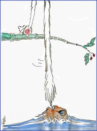 la vie des bêtes,blog bar-zing,dessin humoristique,jean de la fontaine