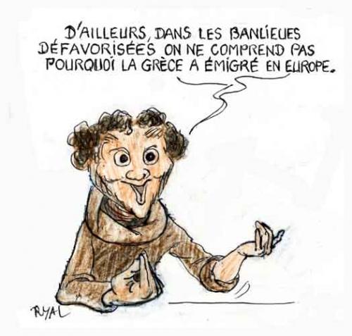 Rama Yade,dette grecque,europe,grèce,faillite de la grèce