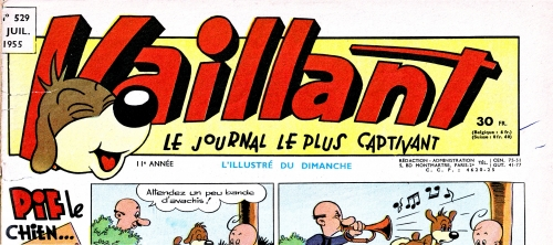 Pif le chien,vaillant,l'Humanité,Arnal,bandes dessinées de collection,Tarzanide du grenier,bar zing de montluçon,Doc Jivaro