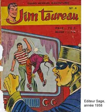 jim taureau,studio tex avery,pim pam poum,bd,bandes dessinées de collection,bar zing,doc jivaro,tarzanides,ecole des beaux arts de bourges