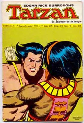bandes dessinées,bd,dann barry,john lehti,paul reinman,cardi,editions del duca,sagedition,tarzan,tarzanides