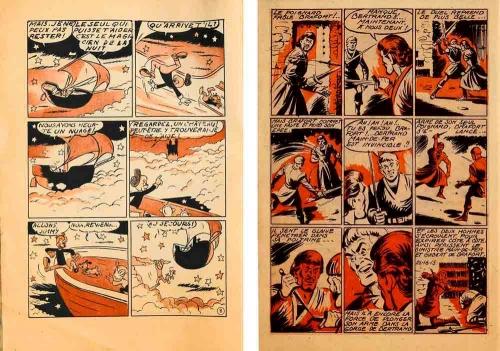 bimbo,jean chapelle,zorro,cassidy,pipo,éditions impéria,éditions lug,bd,bandes dessinées des années 1950,bd de collection,doc jivaro,bar zing