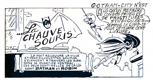 coronavirus,covid-19,batman,chauve souris,l'astucieux bd,confinement
