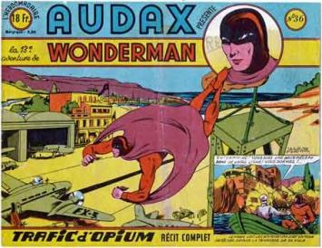 Audax,Satanax,bd,bandes dessinées anciennes,illustrés pour enfants,tarzanides,superhomme,jean d'Alvignac,A. Liquois,