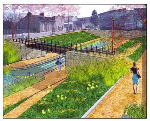 Montluçon,Canal de Berry,aménagement Montluçon,communauté d'agglomération montluçonnaise,moeurs,