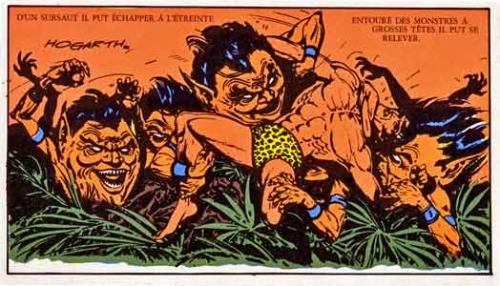Ononos,Tarzan,Hogarth,censure,Milocco,Editions Del Duca,BD,Bédé ancienne,illustrés pour enfants