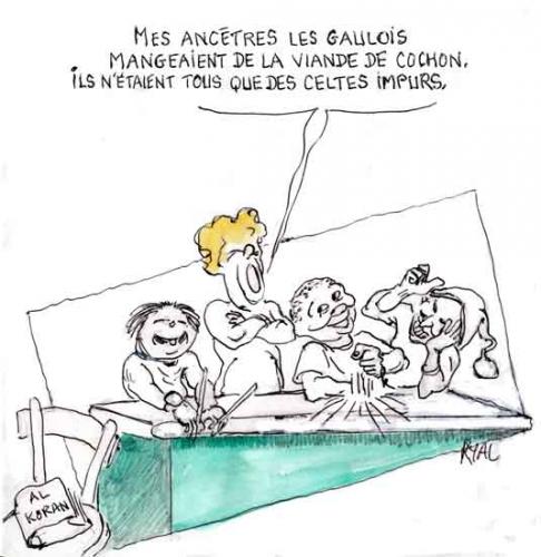 Le Havre,gélatine de porc,cantine scolaire,religion,coutumes religieuses,prescriptions religieuses alimentaires,consommation du porc,religion musulmane