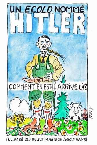 adolph Hitler,France 2,végétarien,écologie,