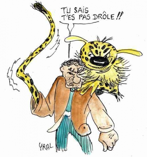 Djamel debbouze,Marsupilami,Franquin,BD,cinéma,spectacle,