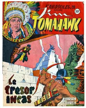 tomahawk,BD,Bédé anciennes,illustrés pour enfants,censure