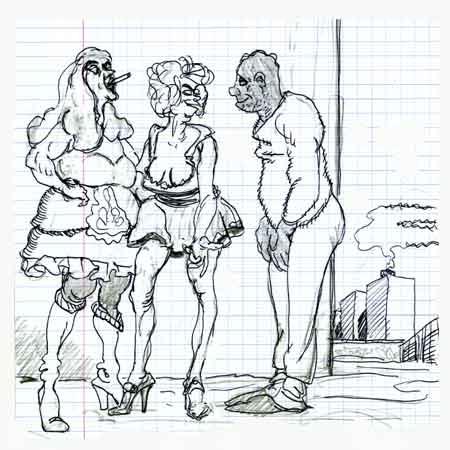 Prostitution populaire,Porte de la Chapelle,Vie parisienne,années 80,sexualité,moeurs