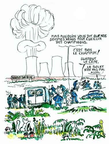 centrales nucléaires,greenpeace,nogent-sur-seine,danger nucléaire