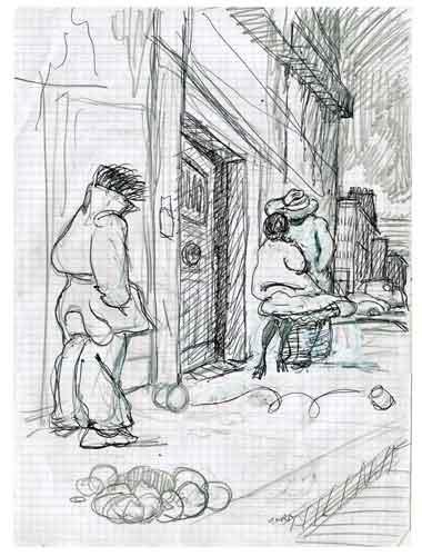 Prostitution,prostitution populaire,prostitution parisienne,sexualité,vie parisienne,moeurs