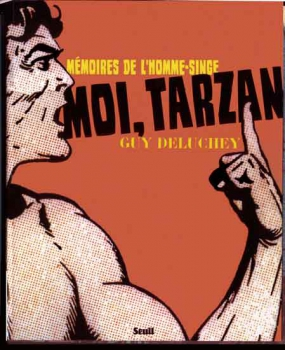 tarzan,philip josé farmer,guy de lucheney,tarzanide,éditions chute libre,éditions seuil,bd,bandes dessinées anciennes,hogarth