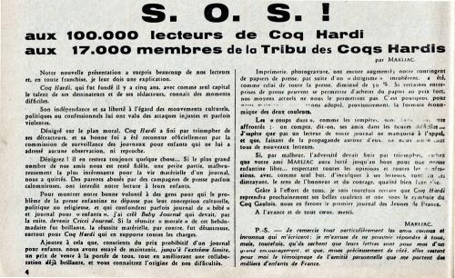 BD-Coq-Hardi,-1950,-S.O.S..jpg