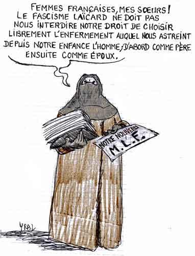 signes religieux,loi française,éducation,laïcité,voile islamique,burqa,