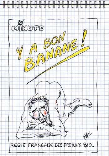 Taubira,Marisol Touraine,Médias,banane,Minute,Hygiène publique,Arc en ciel,