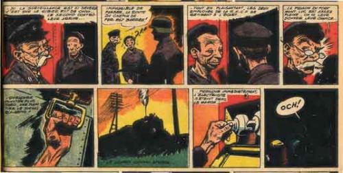 coq hardi,colonel x,bd collections anciennes,rte,sncf,incendie issy-les-moulineaux