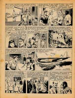 krômagoul,auguste liquois,mortac,tim l'audace,éditeur artima,bd.bandes dessinées de collection,bandes dessinées anciennes,mon journal