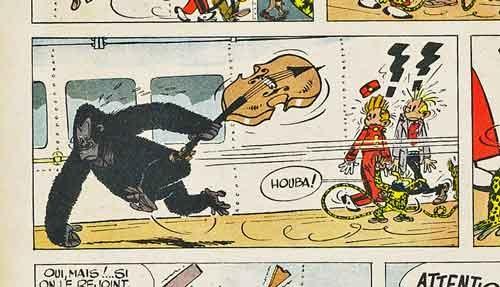 Brassens,Spirou,BD,Franquin
