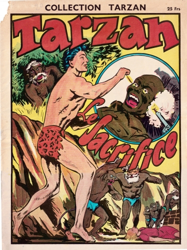 tarzan,william juhré,francis lacassin,editions mondiales,bandes dessinées de collection,doc jivaro,tarzanides du grenier