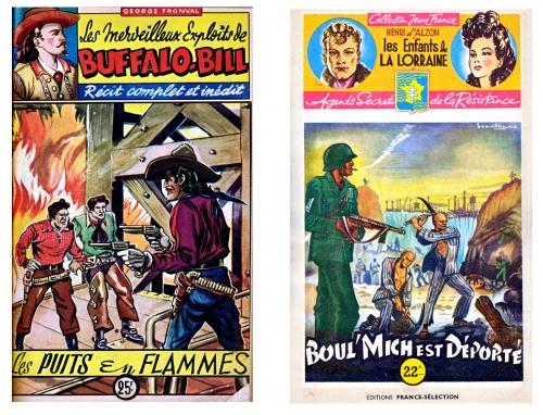 brantonne,éditions saint cyr,éditions duclos,editions del duca,batman,fleuve noir,bandes dessinées année 1947,bandes dessinées de collection.bar zing de montluçon,tarzanides du grenier,ryal