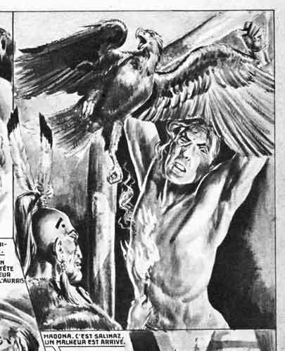 youpi,tarzanide,bande dessinée 1948