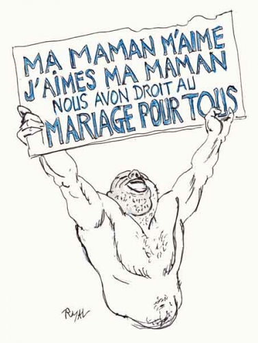 Mariage pour tous,divorce,mariage gay,homoxexualité,Frigide Barjot,