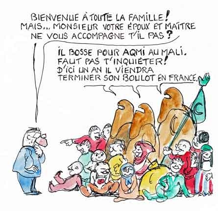 allocations familiales,immigration,polygamie,excision,aides sociales,démocratie,