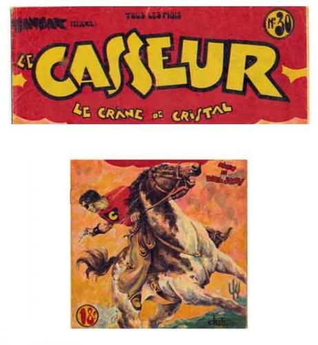LE CASSEUR 1949,LE CRANE DE CRISTAL.TOM-TOM, BD, bandes dessinées de collection, Hogarth, Foster, Alex Raymond, Tintin, Maurice Besseyrias, RMC, Pierre Mouchot