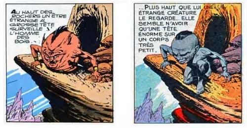 Tarzan,censure,Hogarth,Milocco,Editions Del Duca,BD,bédé ancienne,illustrés pour enfant