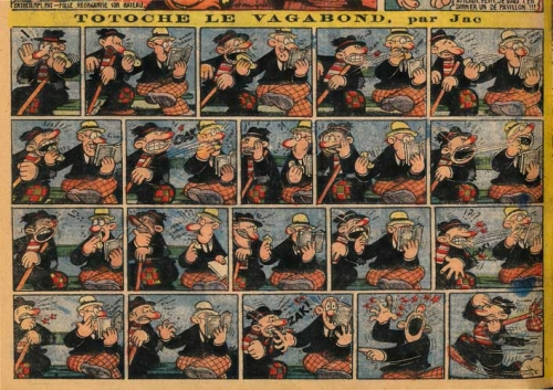 Tarzanides du grenier,bandes dessinées anciennes, TOTOCHE le vagabond, COQ HARDI,GODOT,Jean Cocteau, JACOVITTI, RUSSEL,CLAUDE MARIN