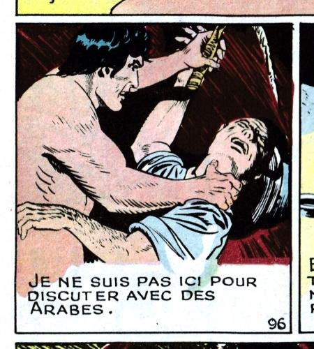 :esclavage,Paul Reinman,Taubira,BD Tarzan 1949,Tarzanides du grenier,bandes dessinées de collection,Doc Jivaro,Bar Zing de Montluçon,