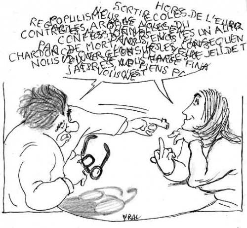Marine Le Pen,Mélanchon,RMC,Débat politique