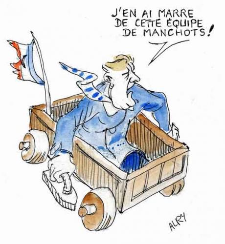 Jean-Luc Mélenchon,Jean-Marc Ayrault,équipe de manchots,gouvernement Hollande,