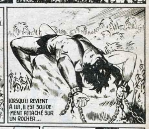 bd,bd anciennes,tarzan,tarzanides,choot,jacques tonnerre,johnny weissmuller,thunder jack,bd de collection,illustrés pour enfants