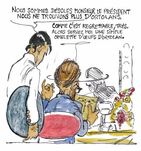 ortolans,ortolans à la provençale,disparition des oiseaux,mittérand,ortolan fromage