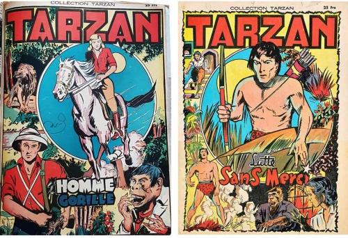 tarzan,e.r. burroughs,banksy,rex maxon,francis lacassin,Éditeur pauvert,revue bizarre,bandes dessinées de collection,raphaël sanzio