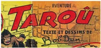 bandes dessinées,bd,tarzan,tarzanides,robert dansler,auguste liquois,bob dan