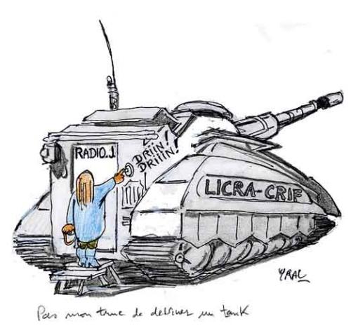 Israël,Radio J,Marine Le Pen,tank