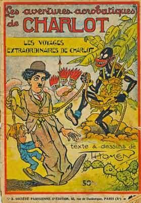 BD, bandes dessinées anciennes, Charlot, l'As,Société Parisienne d'Edition,Raoul Thomen,