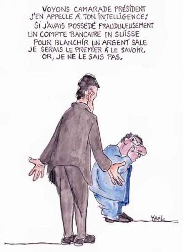 Jérôme Cahuzac,ministre du budget,compte suisse,argent sale,fraude,