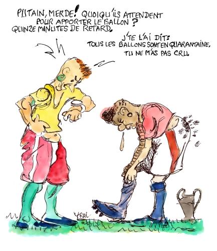 Football,Lyon Juventus,Coronavirus,Laurence Fautras,